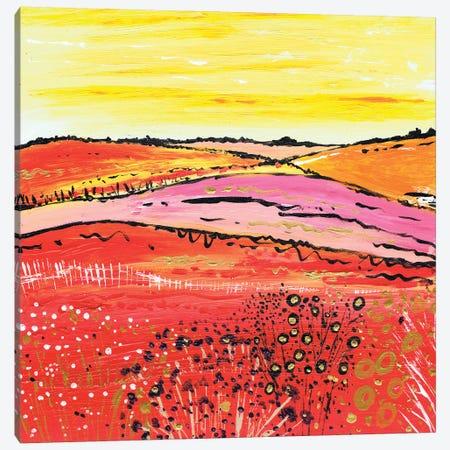 A Country Summer Canvas Print #CDU2} by Caroline Duncan ART Art Print