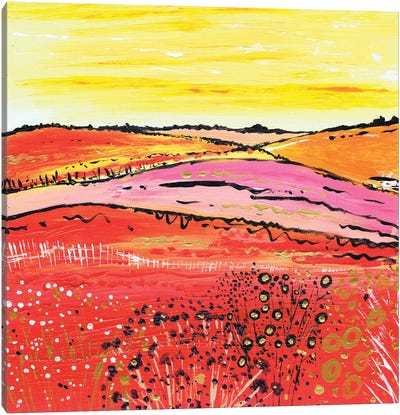 A Country Summer Canvas Art Print