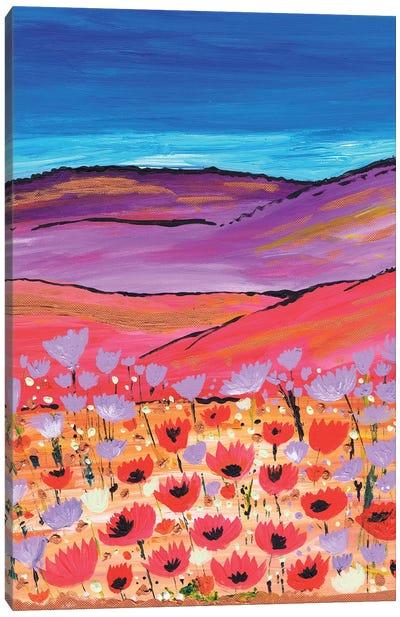 Poppy Fields Canvas Art Print