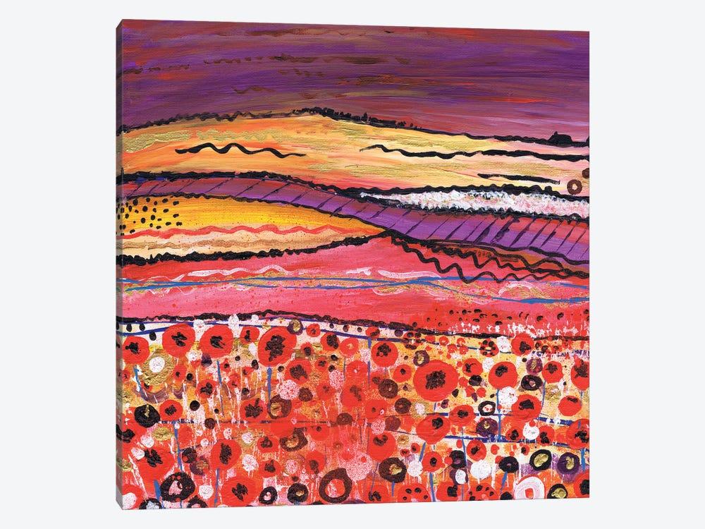 Purple Haze by Caroline Duncan ART 1-piece Art Print