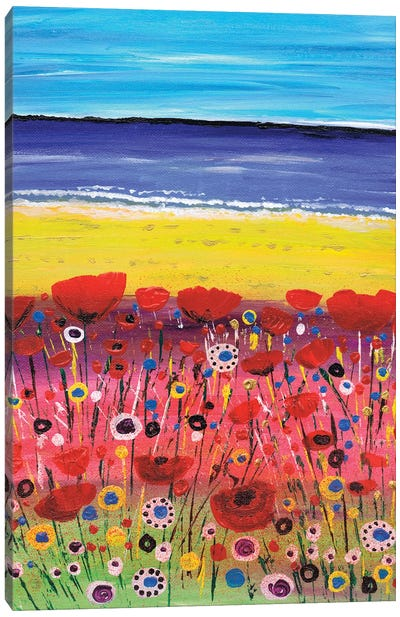 Remembrance Poppies Canvas Art Print