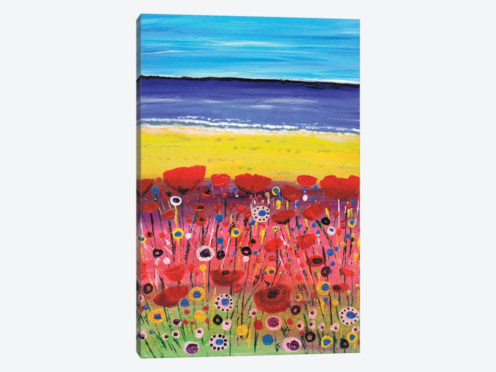 Remembrance Poppies by Caroline Duncan ART 1-piece Canvas Art Print