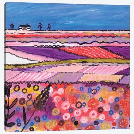 A Country View Canvas Print #CDU3} by Caroline Duncan ART Art Print