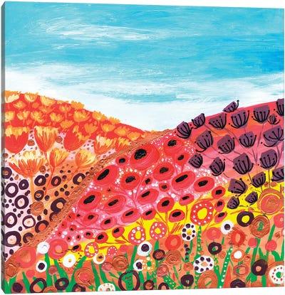 Spring Valley Canvas Art Print