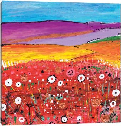 Springtime Flowers Canvas Art Print
