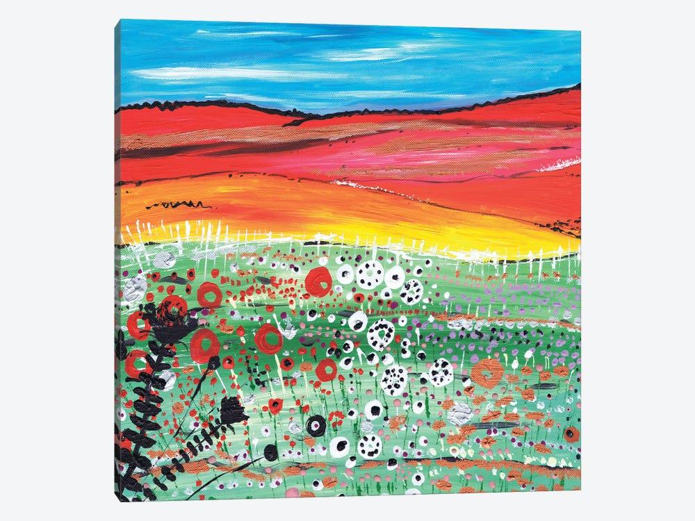 Strawberry Fields by Caroline Duncan ART 1-piece Canvas Art Print