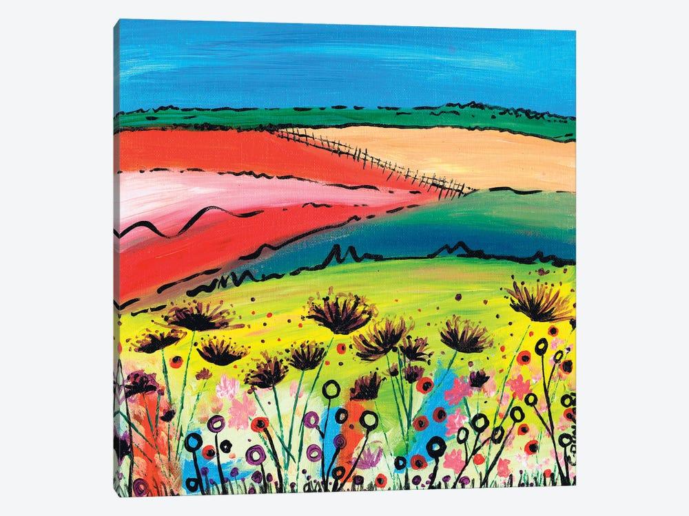 The Allium Fields by Caroline Duncan ART 1-piece Canvas Wall Art
