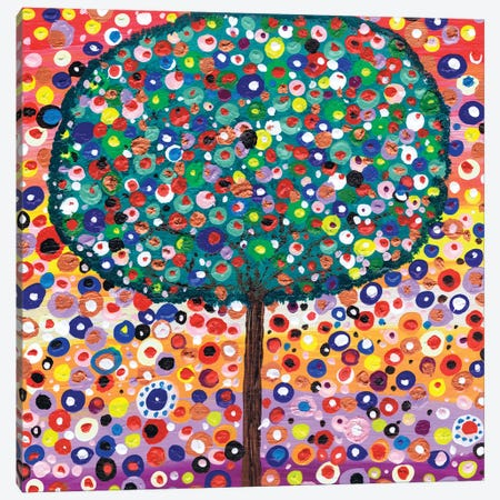 The Colour Tree Canvas Print #CDU45} by Caroline Duncan ART Canvas Wall Art