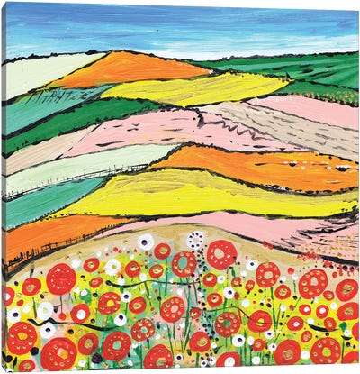 The Colours Of Spring Canvas Art Print