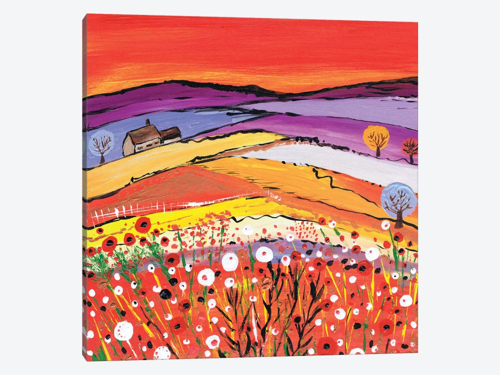 The Cottage On The Hill by Caroline Duncan ART 1-piece Art Print