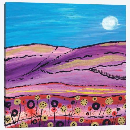 The Lavender Fields 3-Piece Canvas #CDU49} by Caroline Duncan ART Canvas Art Print