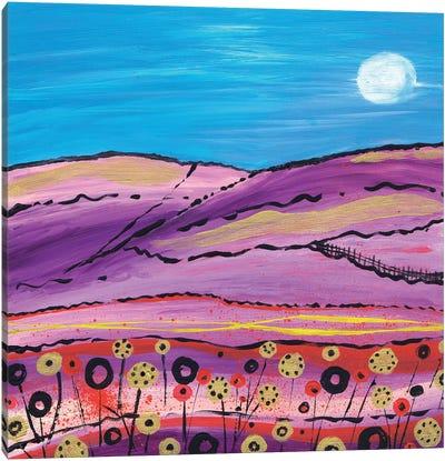 The Lavender Fields Canvas Art Print