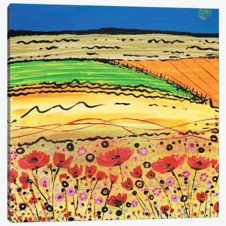 A Golden Summer Canvas Print #CDU4} by Caroline Duncan ART Canvas Wall Art