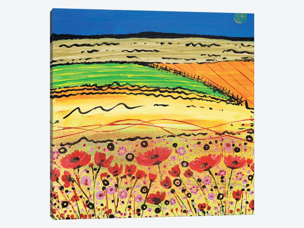 A Golden Summer by Caroline Duncan ART 1-piece Art Print