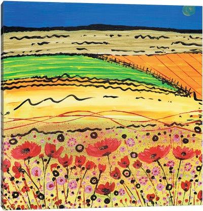 A Golden Summer Canvas Art Print