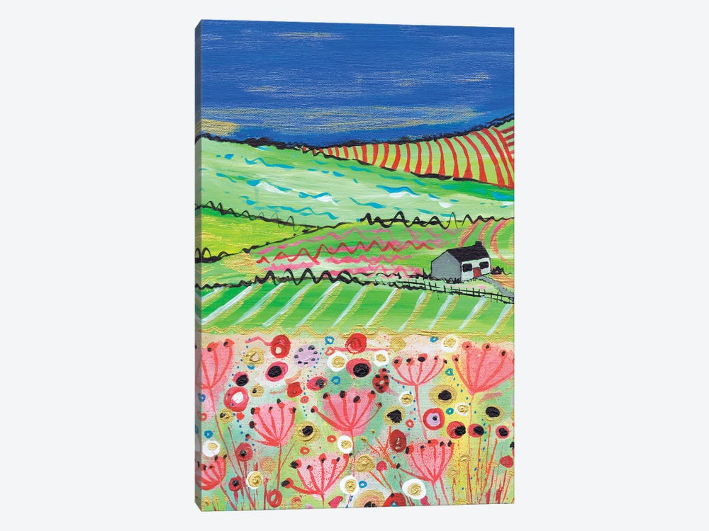 The Road To Crathes by Caroline Duncan ART 1-piece Canvas Print