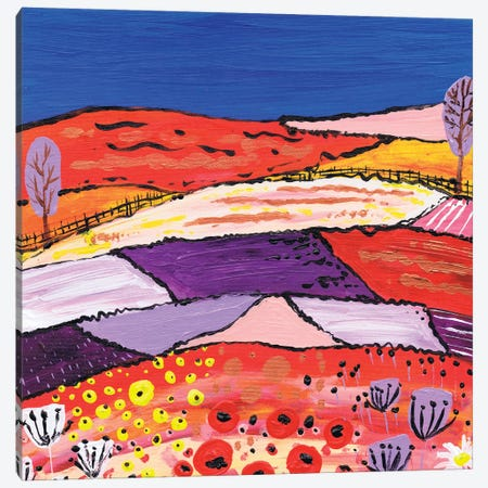 The Two Trees Canvas Print #CDU53} by Caroline Duncan ART Canvas Art