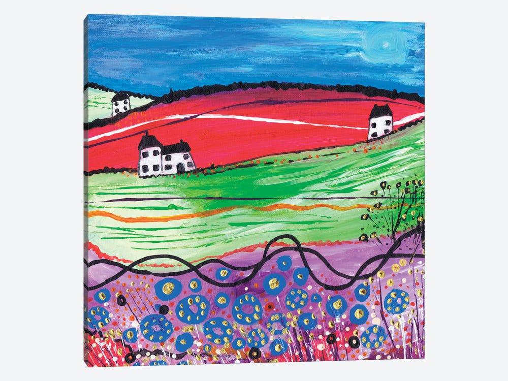 The Village by Caroline Duncan ART 1-piece Canvas Art Print