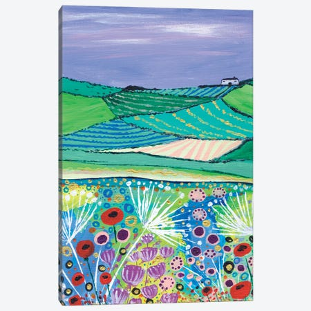 A Quiet Summer 3-Piece Canvas #CDU5} by Caroline Duncan ART Canvas Wall Art
