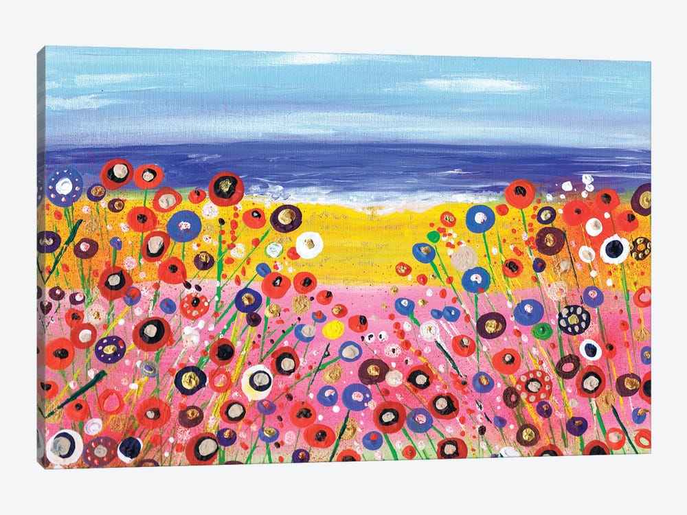 A Summers Day by Caroline Duncan ART 1-piece Canvas Artwork