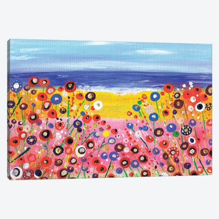 A Summers Day 3-Piece Canvas #CDU7} by Caroline Duncan ART Canvas Artwork