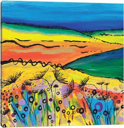 A Tropical Summer Canvas Art Print