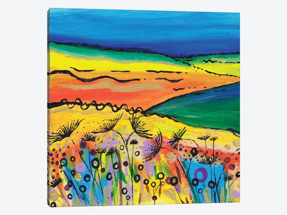 A Tropical Summer by Caroline Duncan ART 1-piece Canvas Art Print