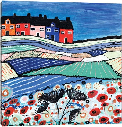Balamory In Bloom Canvas Art Print