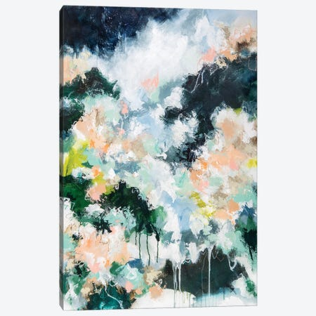 Secret Garden Canvas Print #CDV16} by Cristina Dalla Valentina Canvas Wall Art