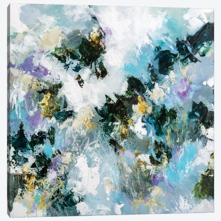 Breathing The Shadow Canvas Print #CDV2} by Cristina Dalla Valentina Canvas Artwork