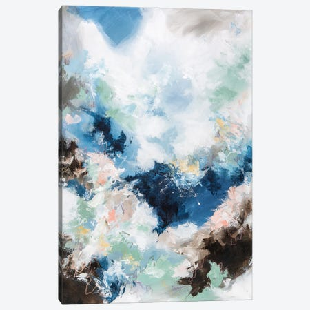 Diving Into The Sky Canvas Print #CDV3} by Cristina Dalla Valentina Canvas Wall Art