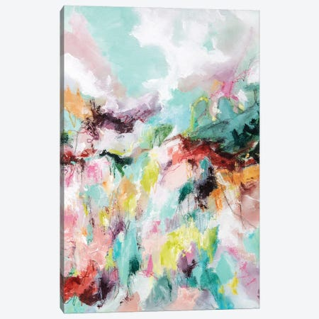Let Go Canvas Print #CDV5} by Cristina Dalla Valentina Canvas Print