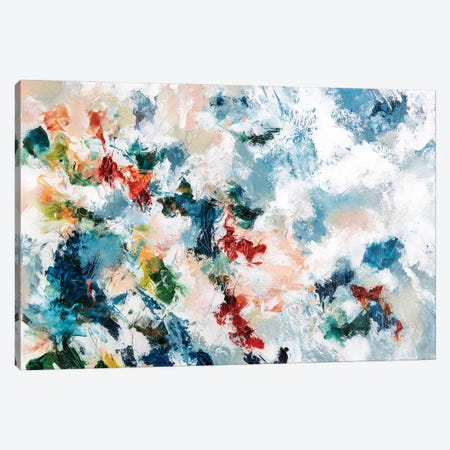 Meltemi Canvas Print #CDV6} by Cristina Dalla Valentina Art Print