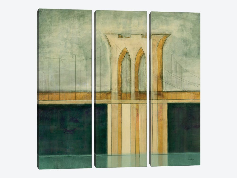 Bridge II by Cape Edwin 3-piece Canvas Art