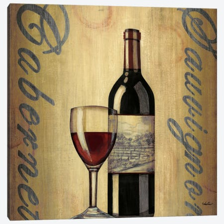 Cabernet Canvas Print #CED2} by Cape Edwin Canvas Wall Art