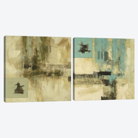 New Cities Diptych I Canvas Print Set #CED2HSET001} by Cape Edwin Canvas Art
