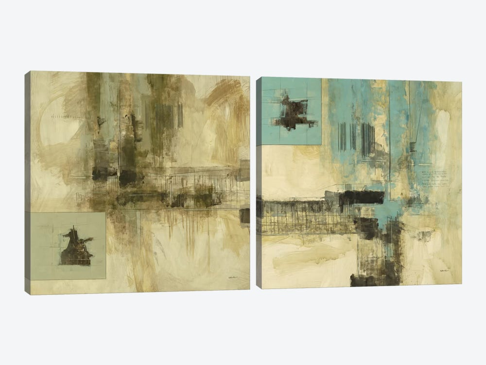 New Cities Diptych I by Cape Edwin 2-piece Canvas Art