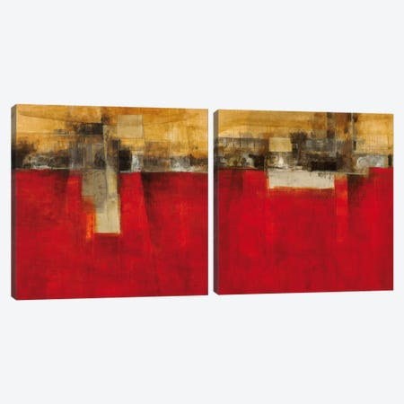 New Cities Diptych II Canvas Print Set #CED2HSET002} by Cape Edwin Canvas Wall Art