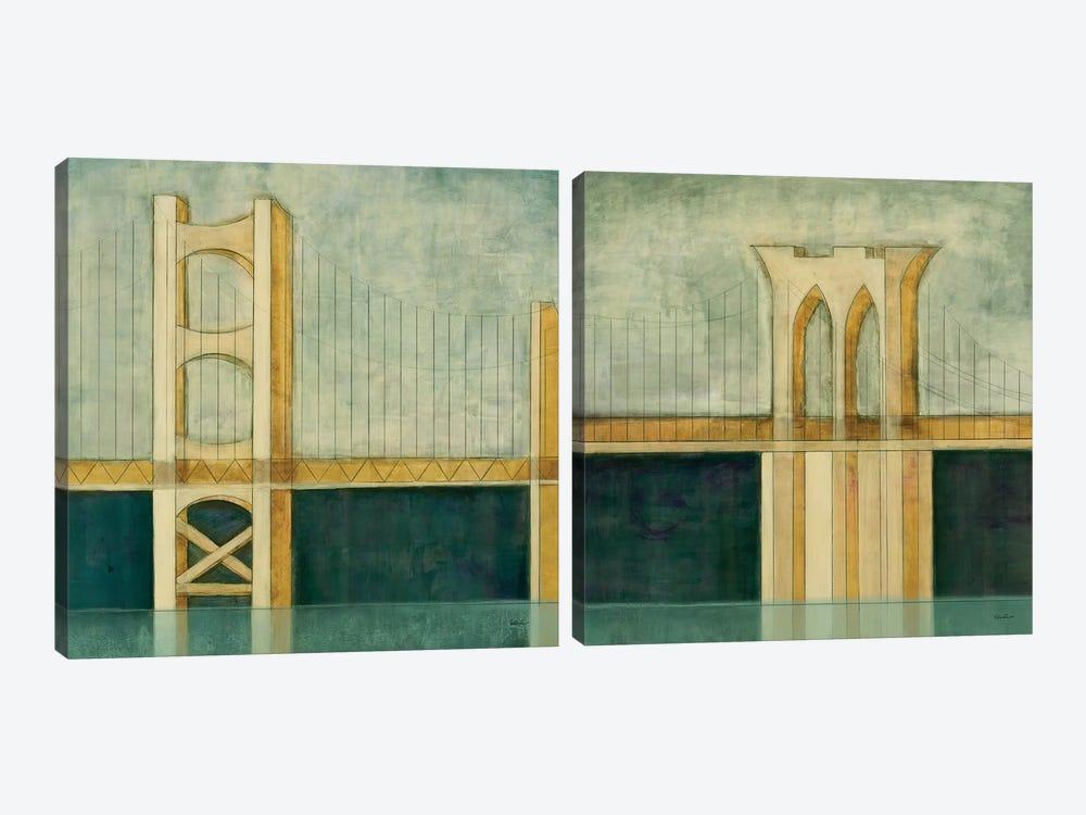 Bridge Diptych by Cape Edwin 2-piece Canvas Artwork