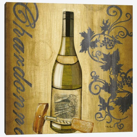 Chardonnay Canvas Print #CED3} by Cape Edwin Canvas Wall Art
