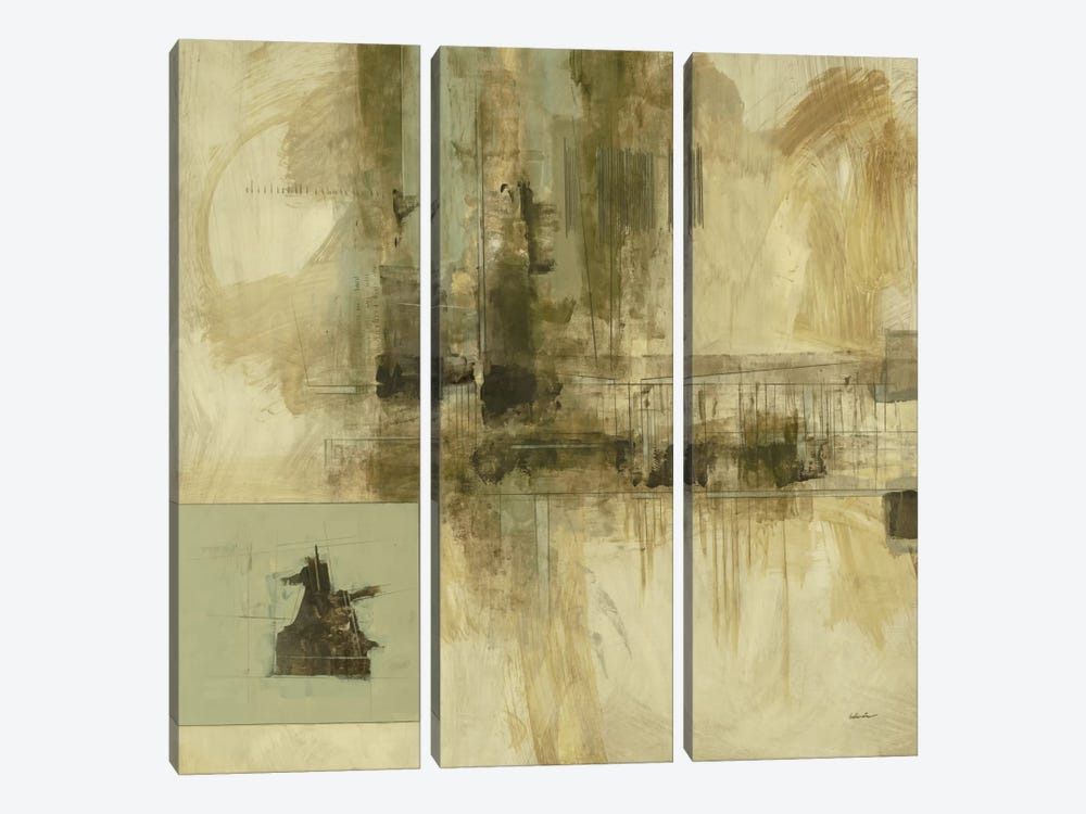 New Cities I 3-piece Canvas Art Print