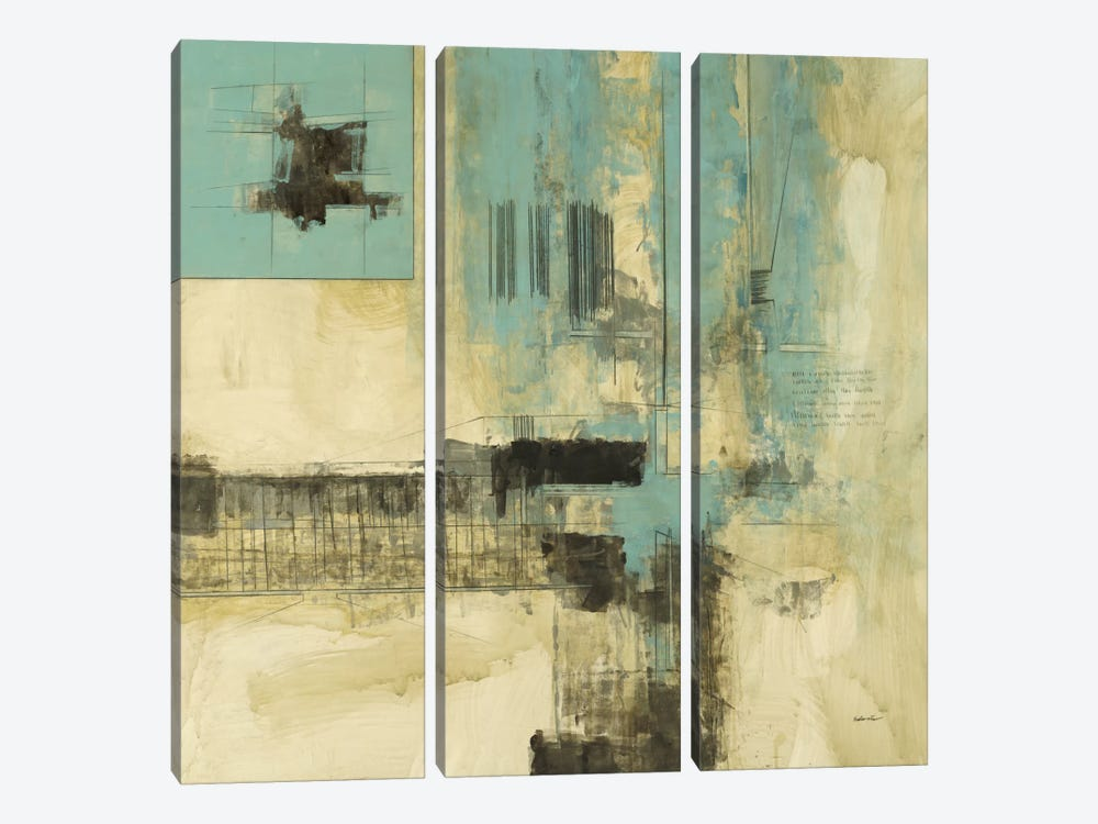 New Cities II by Cape Edwin 3-piece Canvas Artwork
