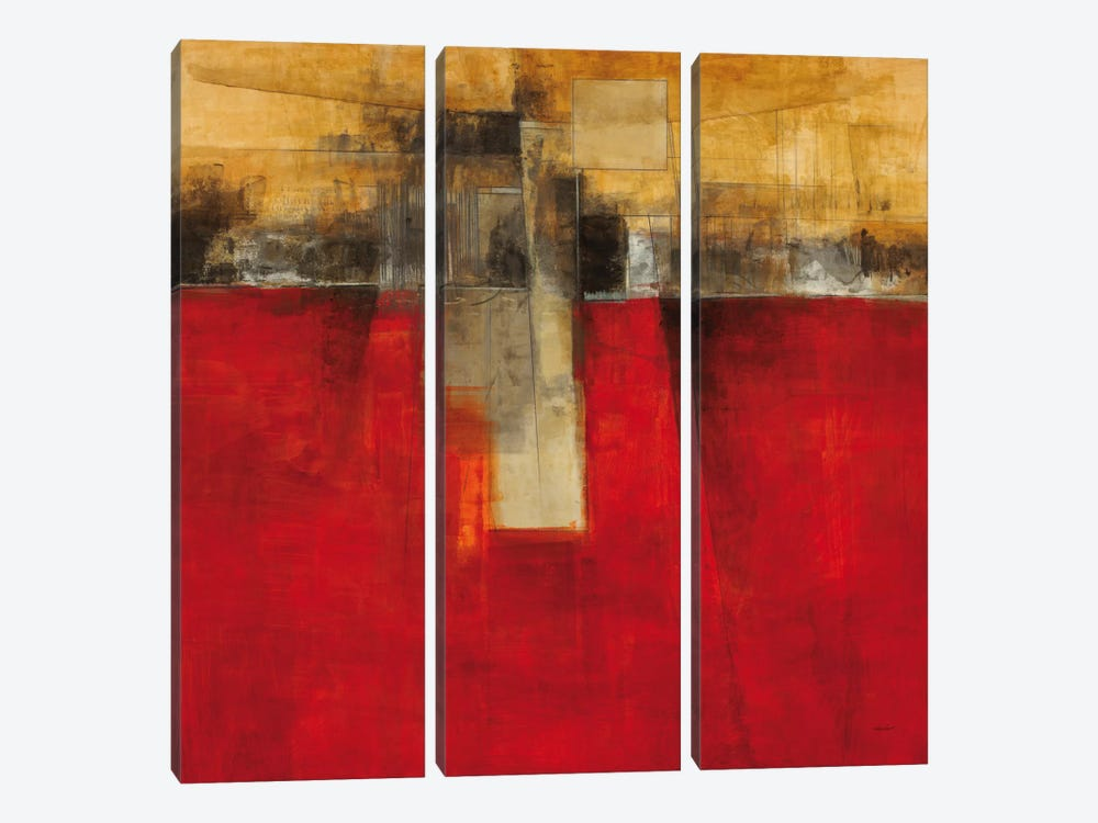 New Cities III by Cape Edwin 3-piece Canvas Print