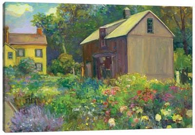 Hillstead Canvas Art Print