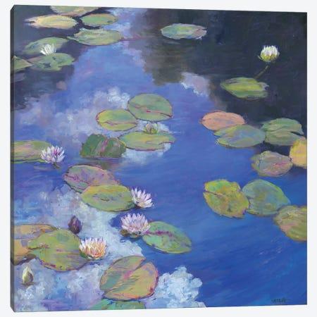Lillypad Luxury I Canvas Print #CEI13} by Catherine M. Elliott Canvas Art Print