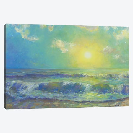 New Morning Canvas Print #CEI16} by Catherine M. Elliott Canvas Wall Art