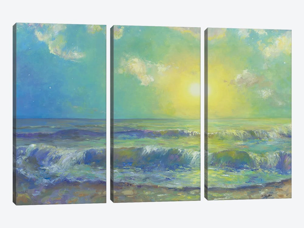 New Morning by Catherine M. Elliott 3-piece Canvas Art