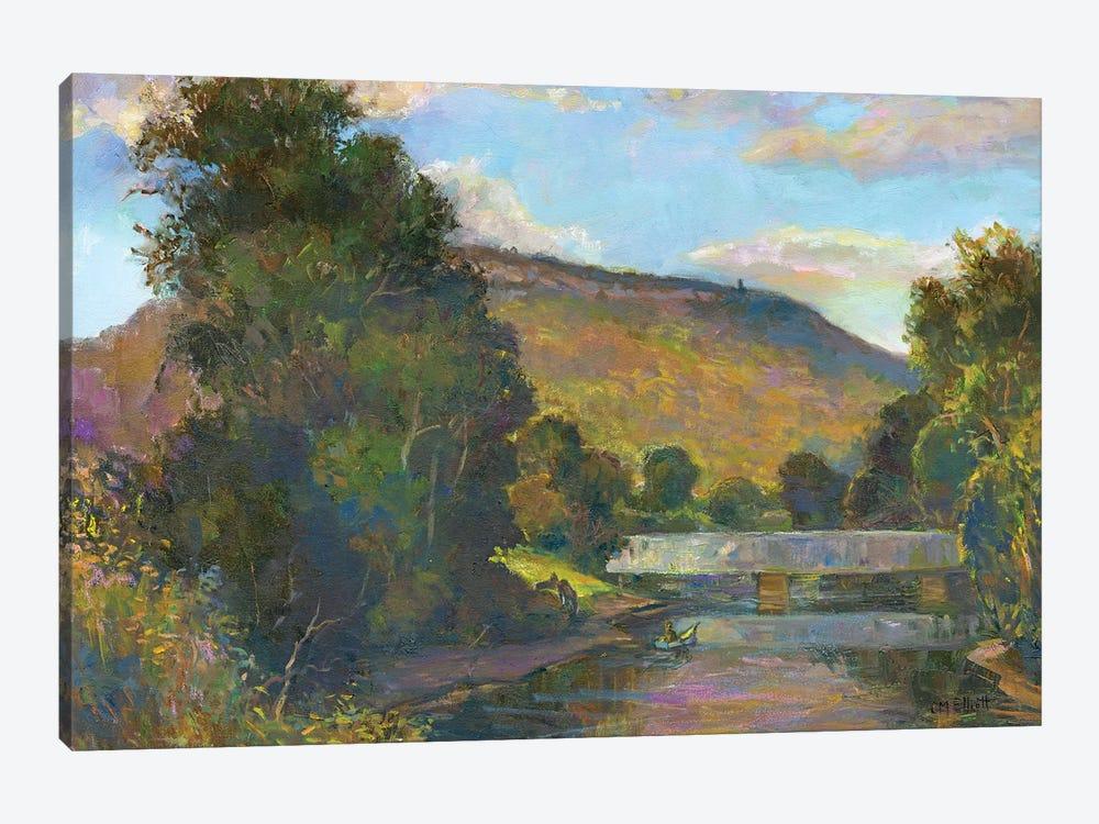 Old Simsbury by Catherine M. Elliott 1-piece Canvas Art Print
