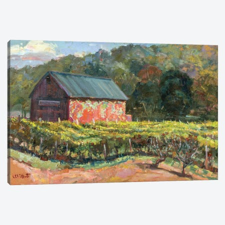 Rosedale Barn Canvas Print #CEI19} by Catherine M. Elliott Canvas Art Print
