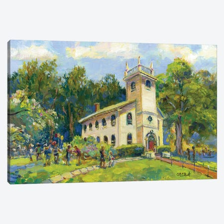 St Andrew's Church Canvas Print #CEI21} by Catherine M. Elliott Canvas Art